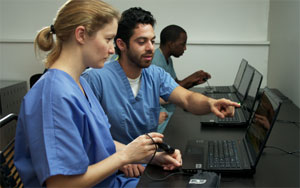 The SonoSim Ultrasound Training Solution is a portable and affordable sonography training program