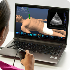Ultrasound Simulator for Cardiology: Core Clinical Module