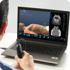 Ultraschall-Simulator für Urologie-Paket