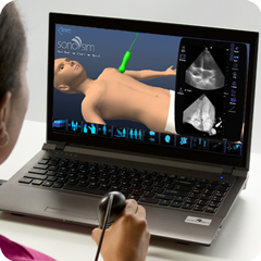 Ultrasound Simulator for Heart: Anatomy & Physiology Module