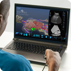 Ultrasound Simulator for Liver: Anatomy & Physiology Module