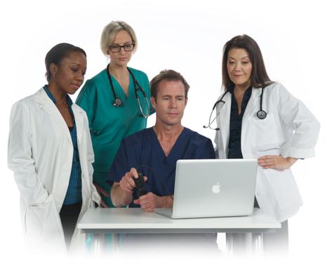 Educación de ultrasonido para médicos y escuelas de medicina