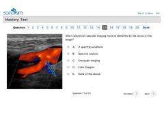 Ultraschallprüfungen zum Erhalt von CME-Guthaben durch AMA und ACEP