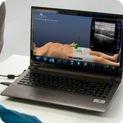 Ultraschall-Simulator für Beinvenen: Modul Anatomie & Physiologie