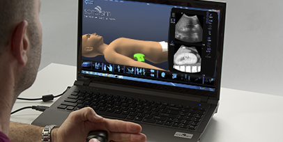 SonoSim Ultrasound Training for MSK Ultrasound, OB-GYN, and Emergency Medicine