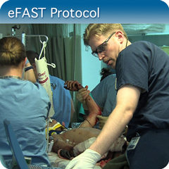 Online Ultrasound Course for eFAST Protocol: Core Clinical Module