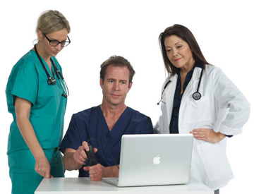 Tell a fellow physician about SonoSim and earn free content