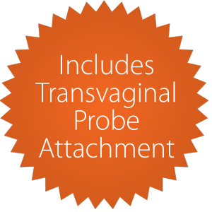 Attachement de sonde transvaginale