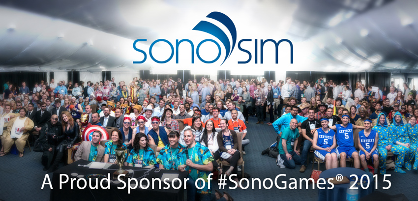 SonoSim at SAEM2015 SonoGames in San Diego