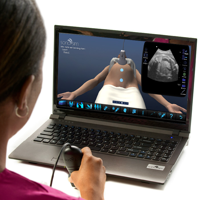 Ultrasound Simulator for Second- and Third-Trimester Pregnancy – Part II: Advanced Clinical Module