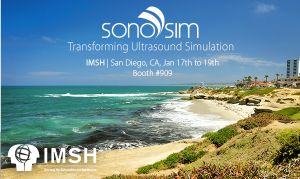 SonoSim for Ultrasound Simulation at IMSH 2016