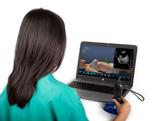 SonoSim Ultrasound Training Solution