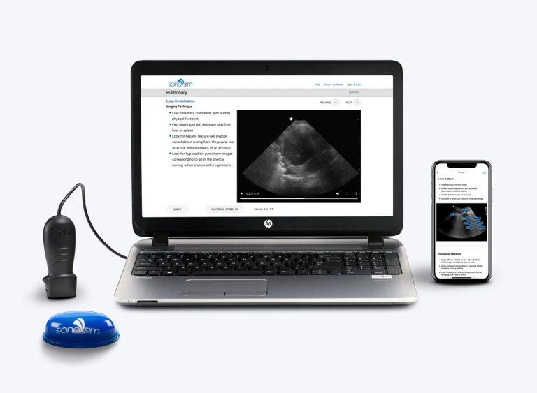 Solution de formation aux ultrasons
