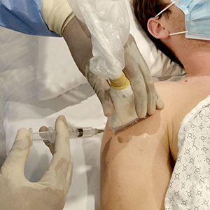 Injection de la gaine du tendon du biceps: module de procédure