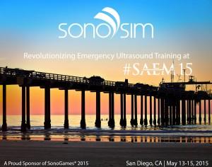 SonoSim presso SAEM 2015