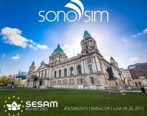 SonoSim al SESAM 2015 di Belfast