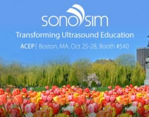 SonoSim в ACEP 2015