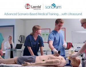 Laerdal Medical et SonoSim annoncent la sortie commerciale de la solution d'échographie Laerdal-SonoSim