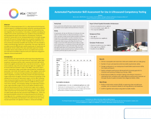 Automated Psychomotor Skill Assessment for Use in Ultrasound Competency Testing