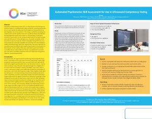 Evaluación automatizada de habilidades psicomotrices para su uso en pruebas de competencia de ultrasonido
